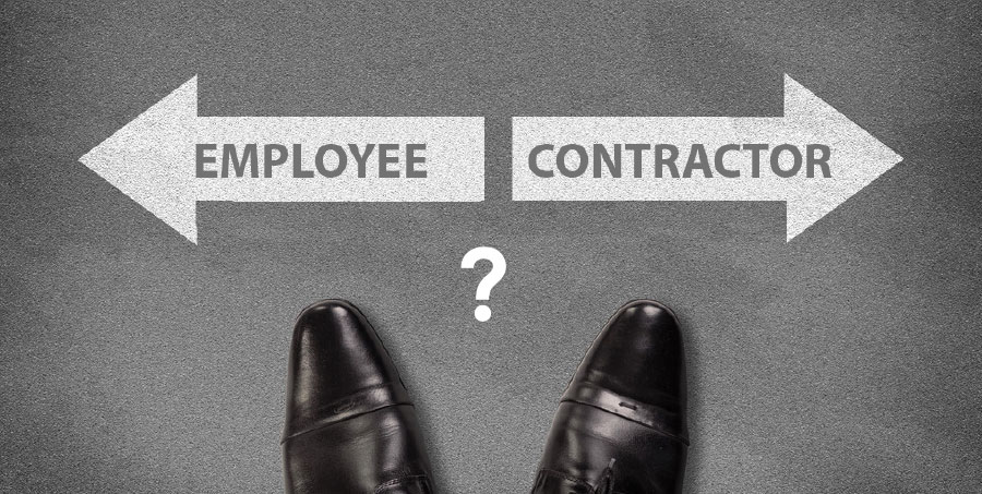 Classifying Contractors vs Employees