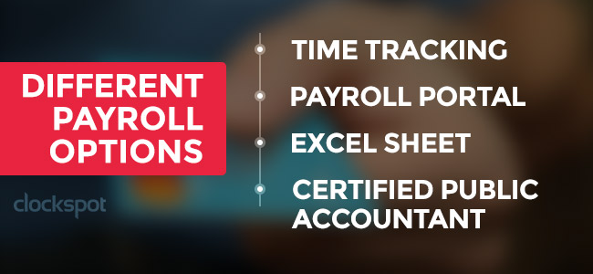 Different Payroll Options