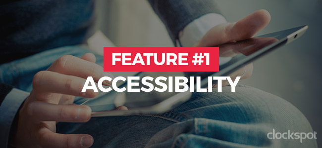 Feature #1: Accessibility