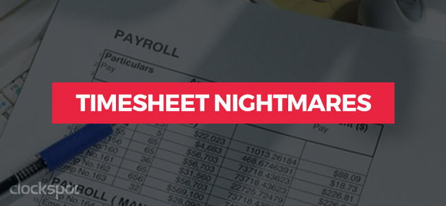 Timesheet-Nightmares